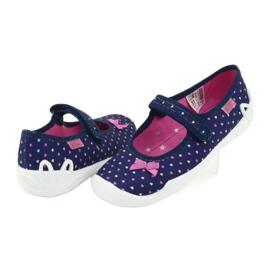 Befado obuwie dziecięce 114Y372 serduszka 4