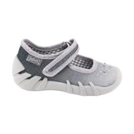 Befado obuwie dziecięce 109P185 szare 1