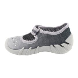 Befado obuwie dziecięce 109P185 szare 3