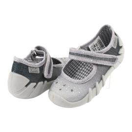 Befado obuwie dziecięce 109P185 szare 5