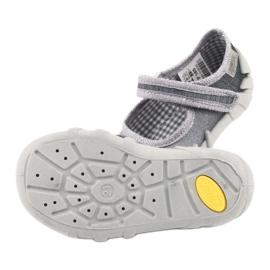 Befado obuwie dziecięce 109P185 szare 6