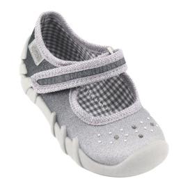 Befado obuwie dziecięce 109P185 szare 2