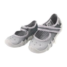 Befado obuwie dziecięce 109P185 szare 4