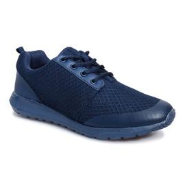 Granatowe obuwie sportowe Cosmo Classic 1