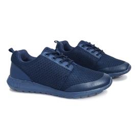 Granatowe obuwie sportowe Cosmo Classic 4