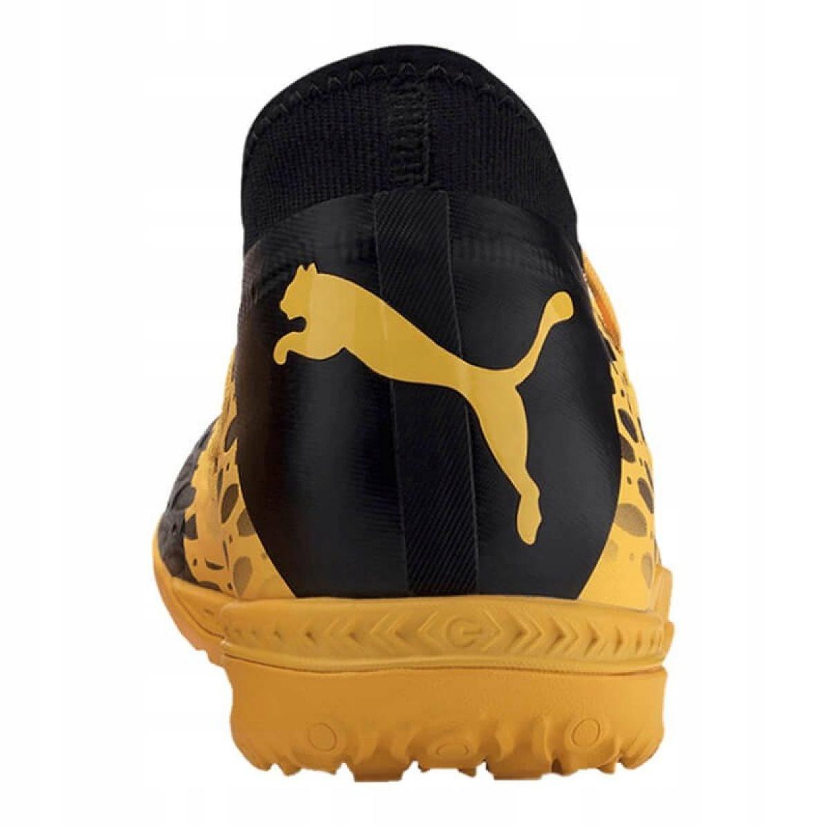 Buty piłkarskie Puma Future 18.4 Tt M 104339 01 żółte czarny, zielony, pomarańczowy