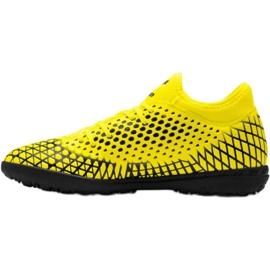 Buty piłkarskie Puma Future 4.4 Tt M 105690 03 żółty 9