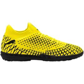 Buty piłkarskie Puma Future 4.4 Tt M 105690 03 żółty 10
