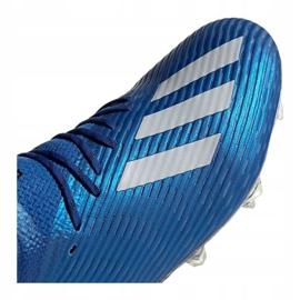 Buty adidas X 19.1 Fg M EG7126 niebieskie niebieskie 1