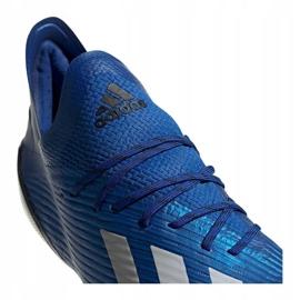 Buty adidas X 19.1 Fg M EG7126 niebieskie niebieskie 2