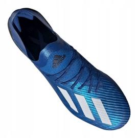 Buty adidas X 19.1 Fg M EG7126 niebieskie niebieskie 3
