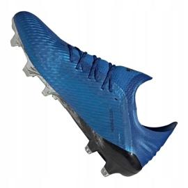 Buty adidas X 19.1 Fg M EG7126 niebieskie niebieskie 5