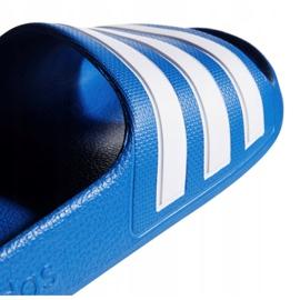 Klapki adidas Adilette Aqua K Jr EF1752 niebieskie 2