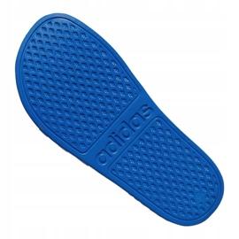 Klapki adidas Adilette Aqua K Jr EF1752 niebieskie 4