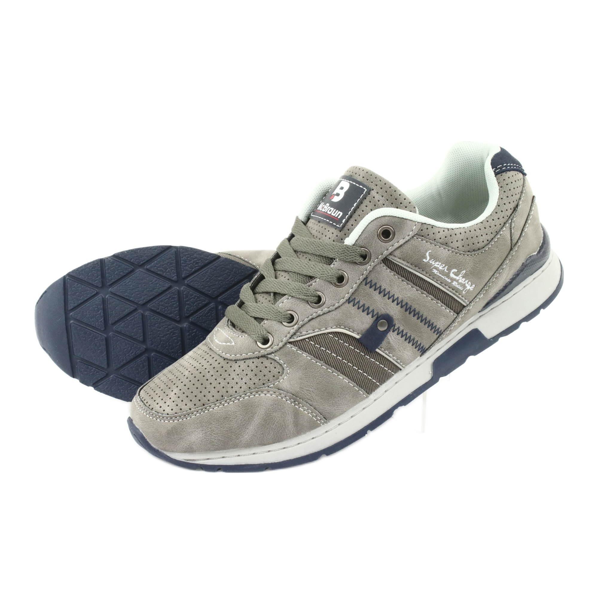 Buty Sportowe McBraun 0881 grey