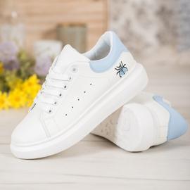 Kylie Modne Buty Sportowe białe 3
