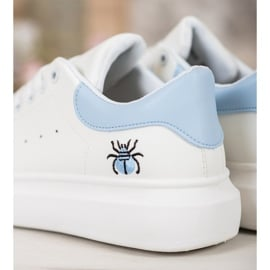 Kylie Modne Buty Sportowe białe 1