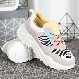 SHELOVET Sneakersy Fashion wielokolorowe 3