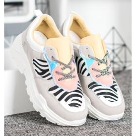 SHELOVET Sneakersy Fashion wielokolorowe 4