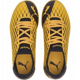 Buty piłkarskie Puma Future 5.4 Tt Jr 105813 03 żółte żółty 1
