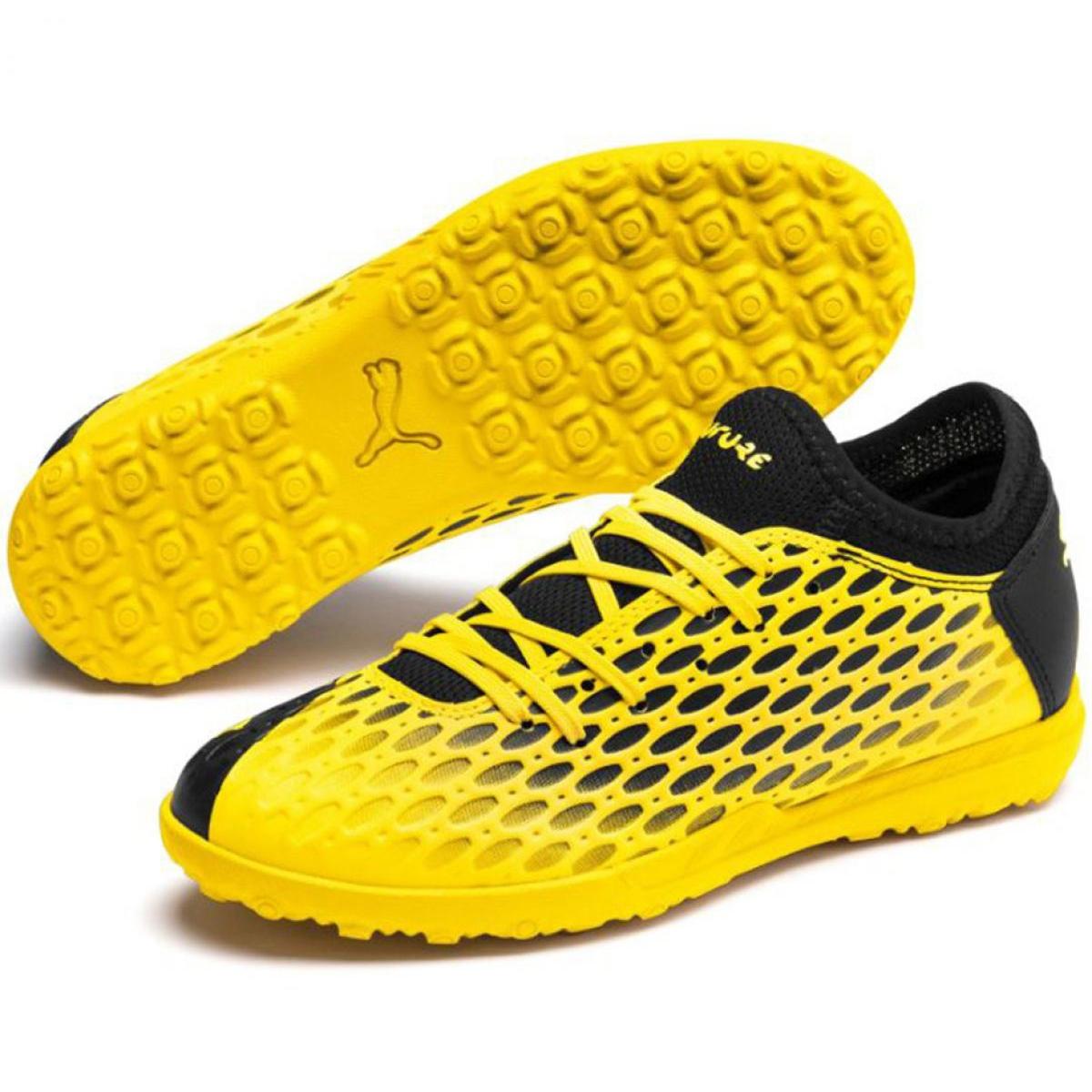 Buty piłkarskie Puma Future 5.4 Tt Jr 105813 03 żółte żółty