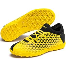 Buty piłkarskie Puma Future 5.4 Tt Jr 105813 03 żółte żółty 3