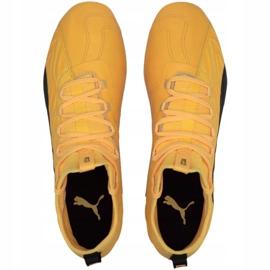 Buty piłkarskie Puma One 20.3 Fg Ag M 105826 01 żółte żółte 1