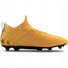 Buty piłkarskie Puma One 20.3 Fg Ag M 105826 01 żółte żółte 2