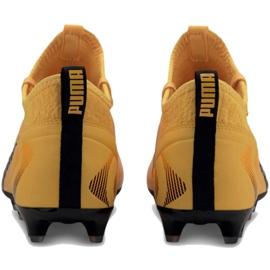 Buty piłkarskie Puma One 20.3 Fg Ag M 105826 01 żółte żółte 4