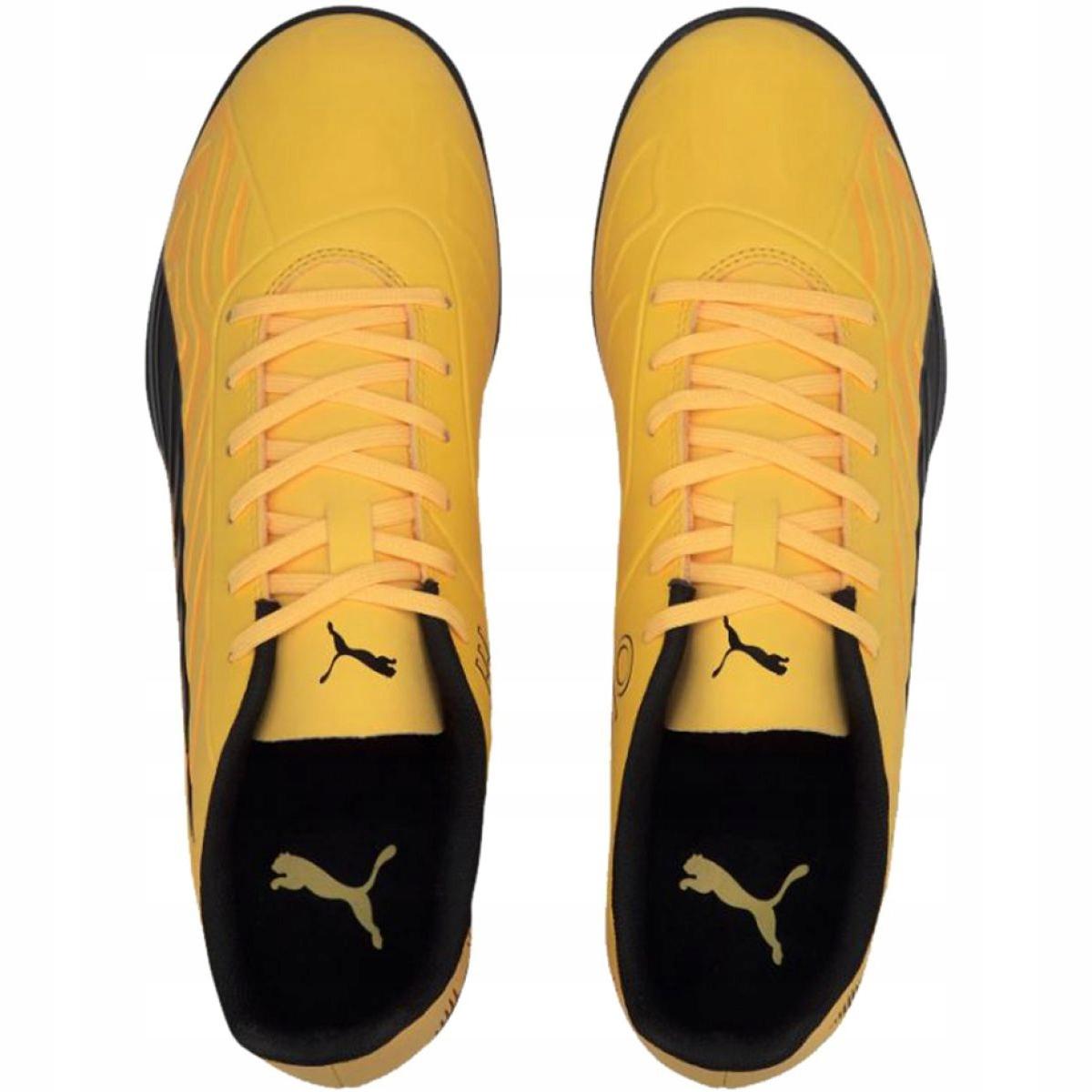 Buty piłkarskie Puma One 20.4 Tt M 105833 01 żółte żółty