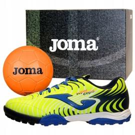 Buty piłkarskie Joma Super Copa Jr 2011 Tf Jr SCJS.2011.TF żółte żółte 2
