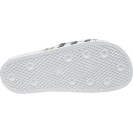 Klapki adidas Adilette W EE4851 białe wielokolorowe 3