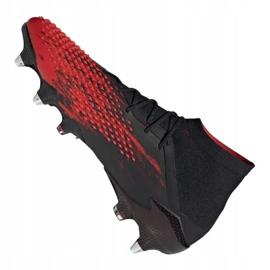 Buty piłkarskie adidas Predator 20.1 M Sg EF1647 czarne czarny, czerwony 2