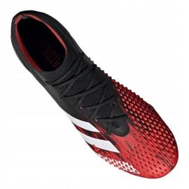 Buty piłkarskie adidas Predator 20.1 M Sg EF1647 czarne czarny, czerwony 3