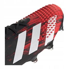Buty piłkarskie adidas Predator 20.1 M Sg EF1647 czarne czarny, czerwony 5