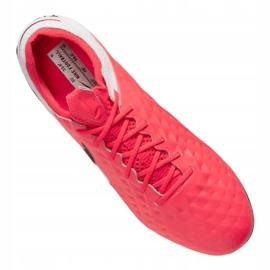 Buty piłkarskie Nike Legend 8 Elite Fg M AT5293-606 czerwone wielokolorowe 3