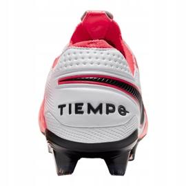 Buty piłkarskie Nike Legend 8 Elite Fg M AT5293-606 czerwone wielokolorowe 4