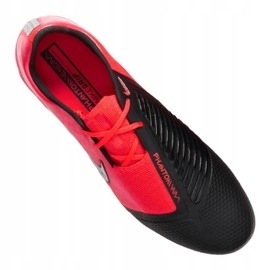 Buty piłkarskie Nike Phantom Vnm Elite Fg M AO7540-606 czerwone wielokolorowe 4