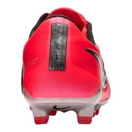 Buty piłkarskie Nike Phantom Vnm Elite Fg M AO7540-606 czerwone wielokolorowe 5