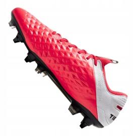 Buty Nike Legend 8 Elite Sg Pro Ac M AT5900-606 czerwone wielokolorowe 1