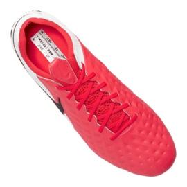 Buty Nike Legend 8 Elite Sg Pro Ac M AT5900-606 czerwone wielokolorowe 3