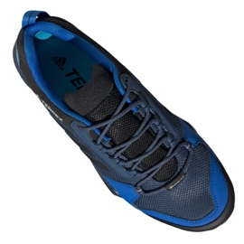 Buty adidas Terrex AX3 Gtx M EG6163 granatowe 2