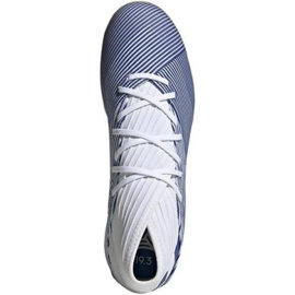 Buty halowe adidas Nemeziz 19.3 In M EG7224 białe wielokolorowe 1