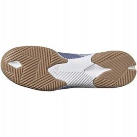 Buty halowe adidas Nemeziz 19.3 In M EG7224 białe wielokolorowe 2