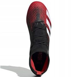 Buty piłkarskie adidas Predator 20.3 Fg M EE9555 czarne wielokolorowe 1