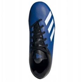 Buty piłkarskie adidas X 19.4 FxG Jr EF1615 niebieskie niebieskie 1