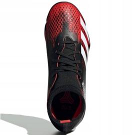 Buty piłkarskie adidas Predator 20.3 Tf Jr EF1950 wielokolorowe czarne 1
