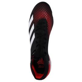 Buty piłkarskie adidas Predator 20.3 Tf M EF1996 wielokolorowe czarne 1
