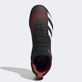 Buty halowe adidas Predator 20.3 In M EF2209 czarny, czerwony czarne 1