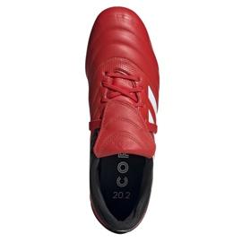 Buty piłkarskie adidas Copa Gloro 20.2 Fg M G28629 czerwone czerwony 1